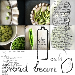 Broad bean crostini www,studiopolle.nl