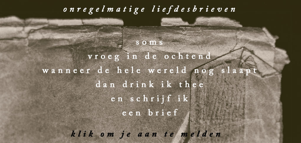 Liefdesbrieven www.studiopolle.nl