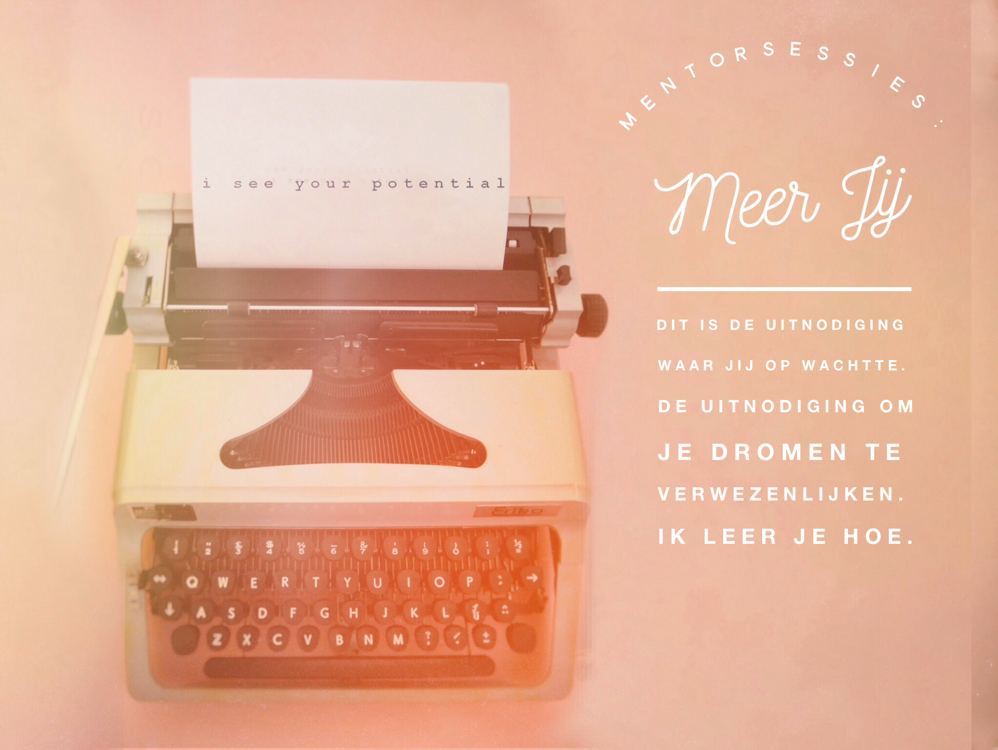 Mentorsessies Meer Jij www.studiopolle.nl