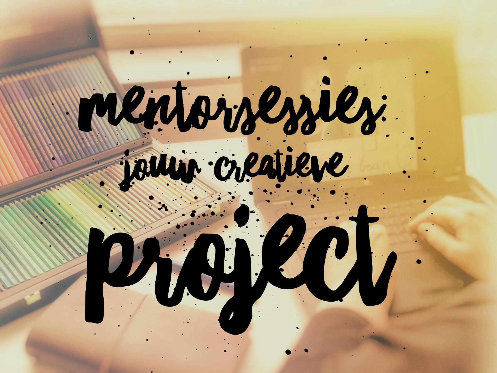 Mentorsessies Jouw Creatieve Project www.studiopolle.nl